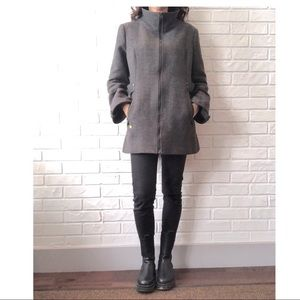 Soia & Kyo wool blend trench coat fits M/L